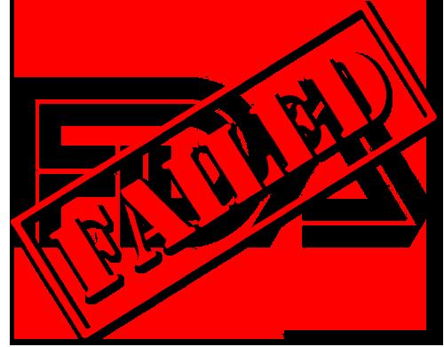 FDA Fail
