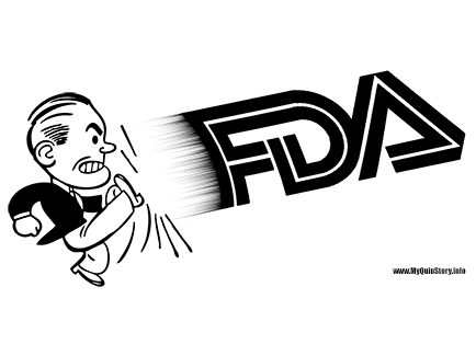 Man Kicking FDA