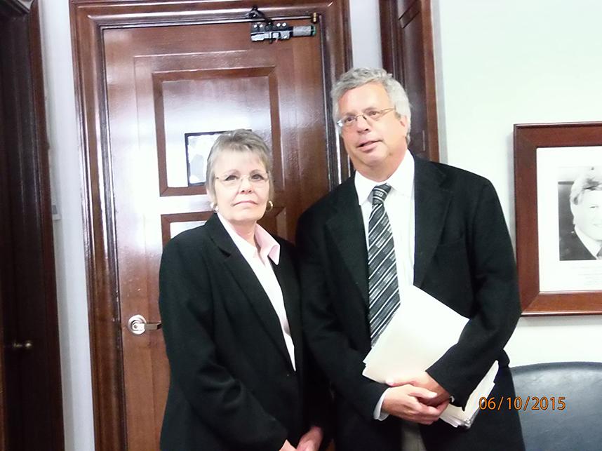 Dr. Charles Bennett & Terry Ashton