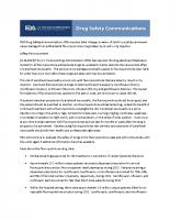 FDA UCM365078 081503 Warnings of Permanent Peripheral Neuropathy
