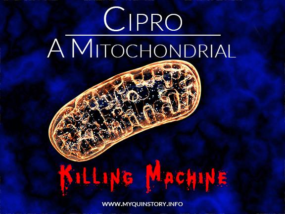 Cipro: A Mitochondrial Killing Machine