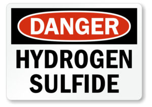 Danger Hydrogen Sulfide