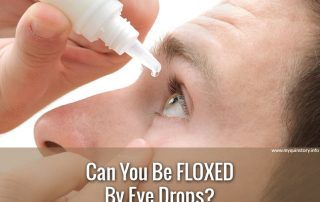 Can you be floxed with eye drops