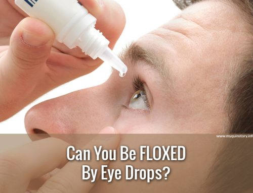 Can You Be Floxed By Eye Drops?