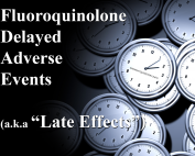 Fluoroquinolone Delayed Adverse Events - My Quin Story